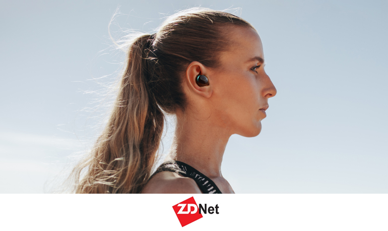 ZDNet:LAVANDA LUNE,Compact in shape and fit snugly in the ear